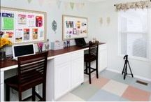 the Work Station / Ways to be organized and have a smoother work flow.