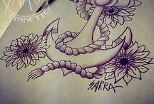 tattoos / by Sandy💜 Gonzalez