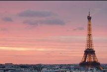 Le ciel en rose / Couchers et levers de soleil, aurores boréales... quand le ciel se pare de rose