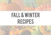 Fall & Winter Recipes / Delicious and healthy comfort foods for the cooler weather! / by Okuma Nutritionals | SlimTea