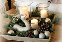 Christmas - Decor / It's the most wonderful time of the year! Snuggling by the fire with that special someone, big family dinners, and the exchanging of gifts to those you love!