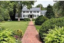 Country Estates in Hampton Roads / Magnificent rural retreats in Hampton Roads, Virginia.