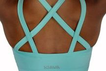 SPORTS BRAS by KIAVA / Sports bras designed for athletes at any level! You will love with these stylish, comfortable, & supportive designs!
