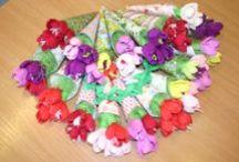 Wiosna prace plastyczne / Pomysły na wiosenne prace plastyczne dla najmłodszych ... i nie tylko ;)