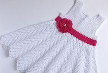 Ropita bebé crochet
