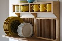 Kitchen storage ideas for small spaces / Ideas for small kitchens