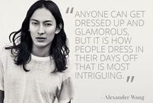 ALEXANDER WANG / Because we are obsessed