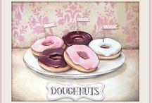 DOUGHNUTS / by Donna Phillip-Miller