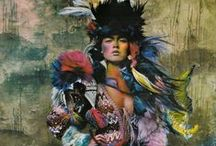 Global / Bohemian inspired global inspiration for fashion and design.