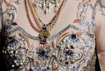 Embellishment / Lovely embellishment and embroidery inspirations and ideas