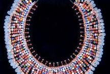 African Beadwork / It is from the three major South African tribes, the Zulu, Xhosa and Ndebele that the African Heritage Trust Collection was formed, with over 500 pieces of hand beaded items. They date from the late 19th century, and were collected about 40 years ago to preserve this rich and unique heritage.    Africa and Beyond have been fortunate to acquire this exceptional crafts and beadwork collection, and are pleased to offer it to all lovers of art, craft and beadwork.