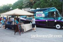 FOOD TRUCKS in Jacksonville / All about Jacksonville's growing army of food trucks.  Small business at it's finest, serving some of the best food in town!