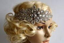 1920s headpieces, flapper headband