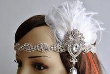 Great Gatsby , 1920s headpiece