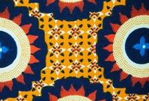 African / African design, textiles, pattern and woodcut.