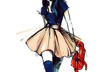// fashion: sketchbook //