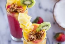 We love Tropical Fruit / Tropical fruit recipes, cocktails and inspirations.