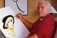 Artist_René Gruau / Legendary fashion illustrator XX century  (04.02.1909 – 31.03.2004)