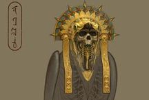 Game_Warhammer: tomb kings / Egyptian style in games