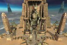 Game_Unreal Tournament / Egyptian style in games