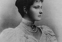 Empress of Russia Alexandra Feodorovna / Алекса́ндра Фёдоровна, императрица Российской империи (20.10 (1.11) 1894 — 2 (15.03) 1917)