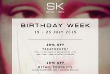 SK BIRTHDAY WEEK 2015 / SK Clinic + Spa celebrate their 7th Birthday form 19-25 July 2015. With lots of treats and special offers here are some of our favourite photographs from the week!