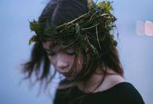 Accessories_Flower head wreath, crown