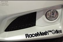 Automotive accessories / Setting vehicles apart one RaceMesh Grille at a time!  Made To Order!    WEBSITE: www.racemeshgrilles.com EMAIL: racemesh@sbcglobal.net PHONE: 925.628.7502