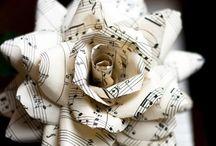Muziek papier