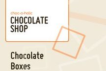 Chocolate Boxes / Chocolate boxes, the perfect chocolate gifts.  From mini chocolate boxes to the biggest boxes of chocolates you can buy online.