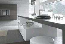 interior - kitchen -modern space