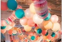 Party Decorations / What we're all about! Some of our party decs and ideas we love!