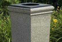 Decorative Trash Cans / Decorative trash cans in a multitude of colors and options to match any decor adding that decorative touch.