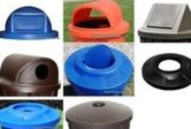 Drum Lids for 55 Gallon Drums / Plastic drum lids, galvanized steel drum lids, and painted metal lids for 55 gallon drums.