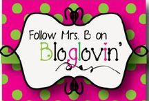 Mrs. B's Best Blog / A board that features Mrs. B's blog posts.