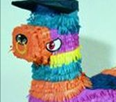The Wonderful World Of Pinatas! / Piñatas have been around since the dawn of time - or so it feels - We want to celebrate the piñata and all things piñata themed!