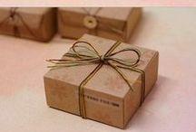DIY: packaging, boxes, envelopes
