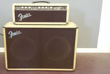 Vintage Fender Amps / The old Fender amps are the best!