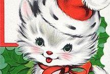 CARDS - RETRO - CHRISTMAS / by JoJo's Haven