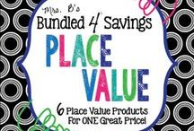 Place Value / Understanding place value is the foundation of math.  This board features all sorts of place value resources