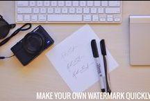 Watermarking / ARRRRRR....there's pirates, beware matey!