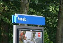 Ermelo / Het Veluwse dorp Ermelo.