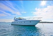 Lady A, Ferretti 620 / Lady A, a Ferretti 620, a motor yacht available for crewed charters throughout Greece. With 3 cabins and 3 wc it is perfect for groups of 6 guests.