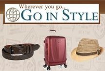 Go In Style Fashion Accessories / Whether preparing for a vacation, business trip, or a classy night out, we want to make sure you get there in style. Formerly, GoInStyle.com, our Go In Style shop is a curated collection of our highest quality brands and products.   Wherever you go... Go In Style!