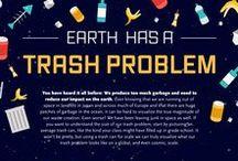 Infographics / Infographics on Trash and Waste.