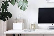 Home Office Decor / Design inspiration for the home office.