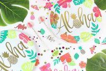 Hawaiian Party Ideas / Aloha to our Hawaiian Party theme board!  #Hawaiian #Party #Themes