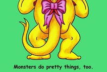 """Monsters Do Ugly Things / Here are some pictures from our first book """"Monsters Do Ugly Things"""": http://www.monstersunbound.com/our_products"""