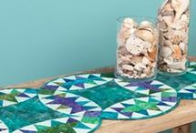 Quilting Table Runners & Wall hangings
