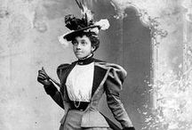 Victorians and Edwardians of Color / People of color during the Victorian, Edwardian and transitional periods.